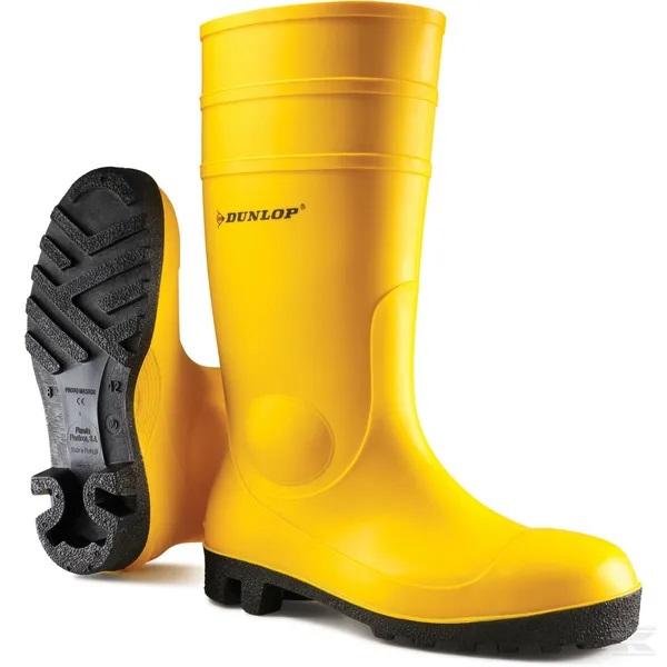 Zaštitna čizma žuta Dunlop