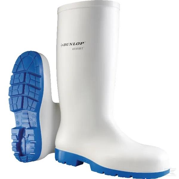 bijele čizme Dunlop